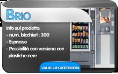 brio cb distributori automatici hot&cold