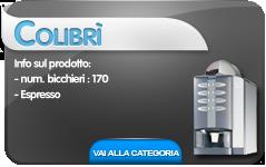 hot&cold colibri cb distributori automatici