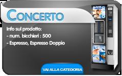 concerto astro cb distributori automatici hot&cold