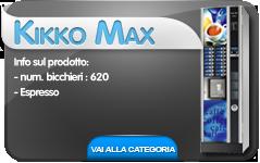 kikkoMax cb distributori automatici hot&cold