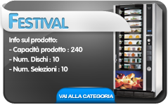 festival cb distributori automatici snack&food