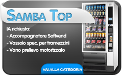samba cb distributori automatici snack&food