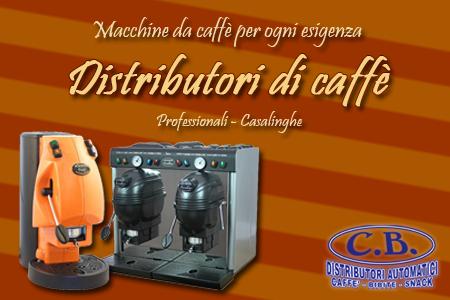 macchine caffè cb distributori automatici